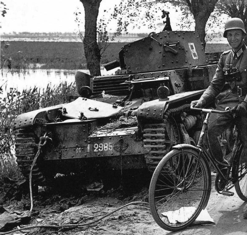 Во Францию на велосипеде. Гувельд. 1940 г.
