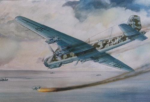 Popov Stoian. Бомбардировщик He-177