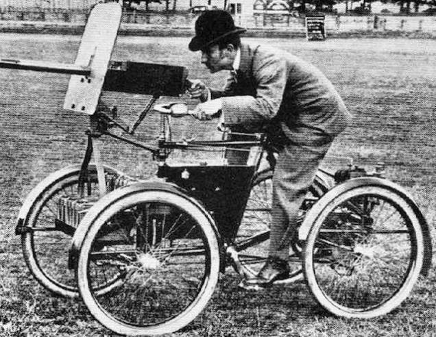 Квадроцикл Симмса с бронированным щитом