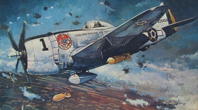 Chagas Carlos. Истребитель Р-47