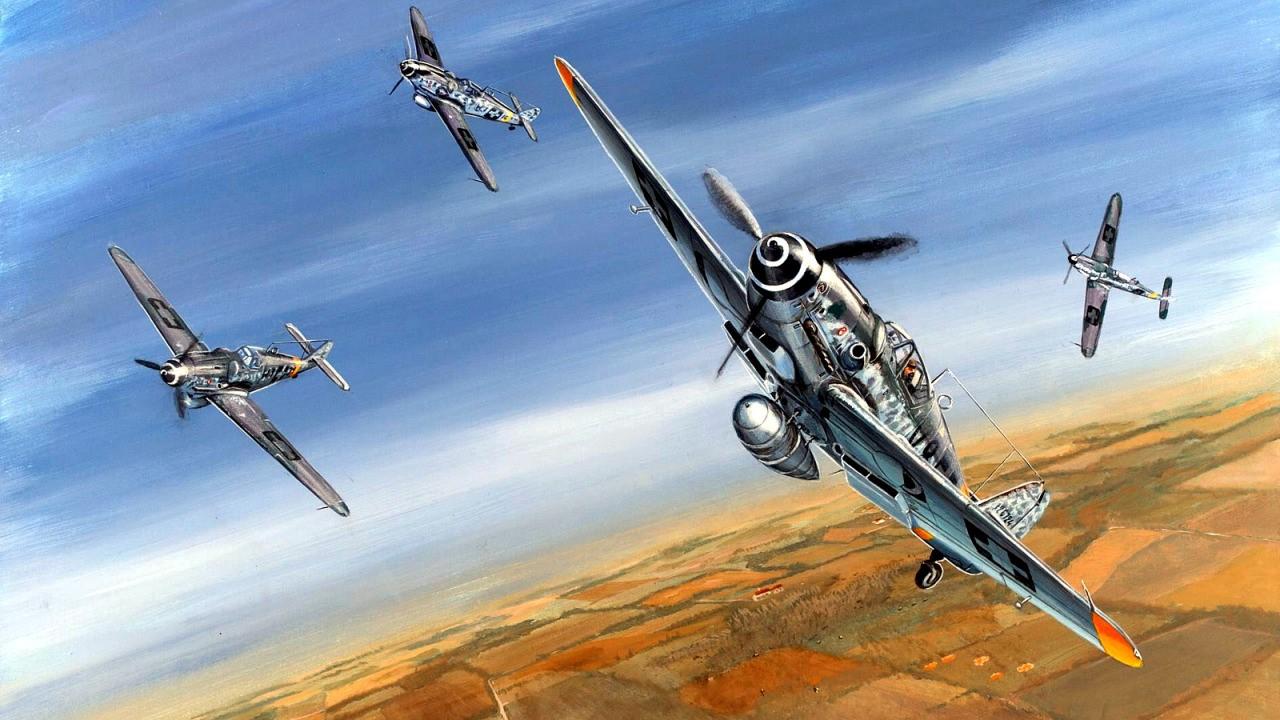 Férenc Vincze. Истребитель Bf-109G