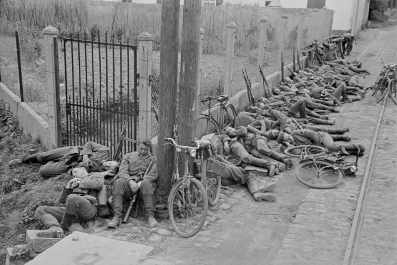 Привал велосипедистов