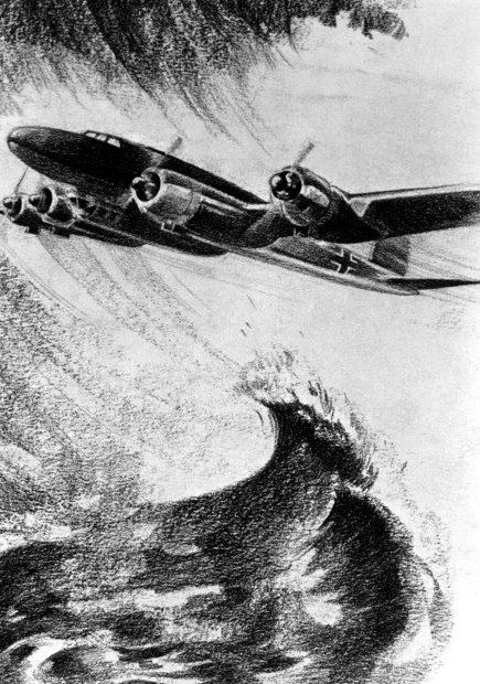 Muller Gera. Бомбардировщик над Атлантикой