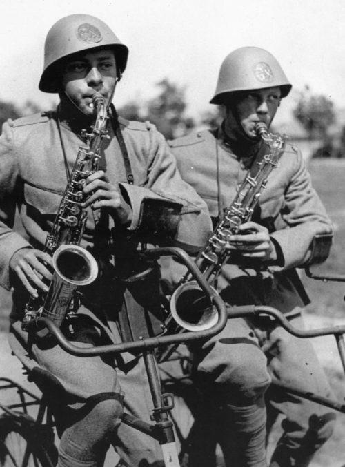 «Велосаксофонисты». 1939 г.