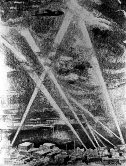 Muller Gera. Воздушный налет