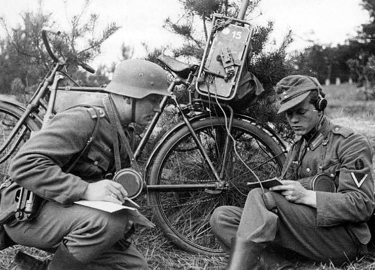 Радиостанция на велосипеде