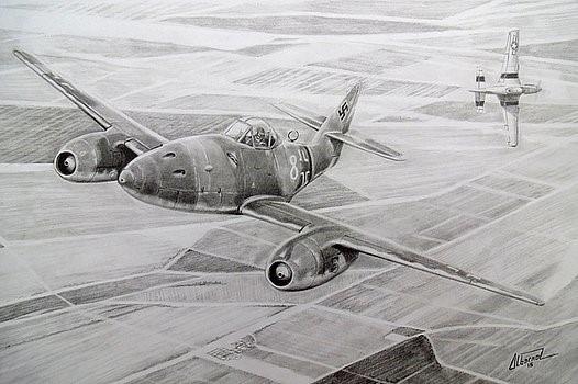 Albornoz Pablo. Истребитель Ме-262