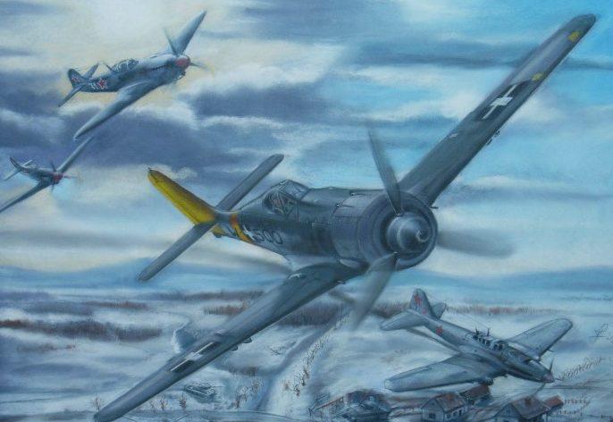Férenc Vincze. Истребитель Fw-190