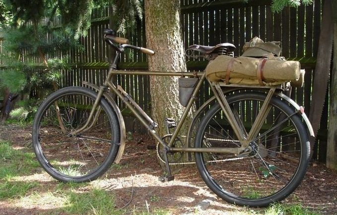 Военный велосипед WZ. 35