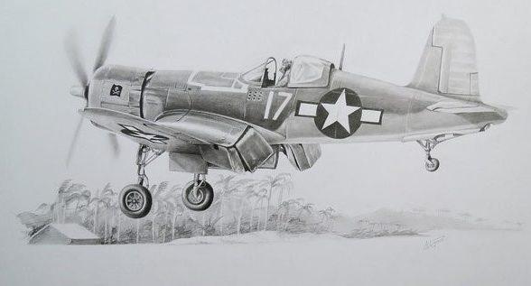 Albornoz Pablo. Истребитель F-4U Corsair