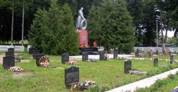 Памятник на могилу Жуковка Эконом памятник Плечики Луга