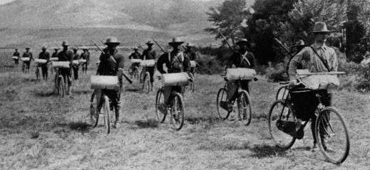 Солдаты корпуса в Форт-Миссуле. 1897 г.