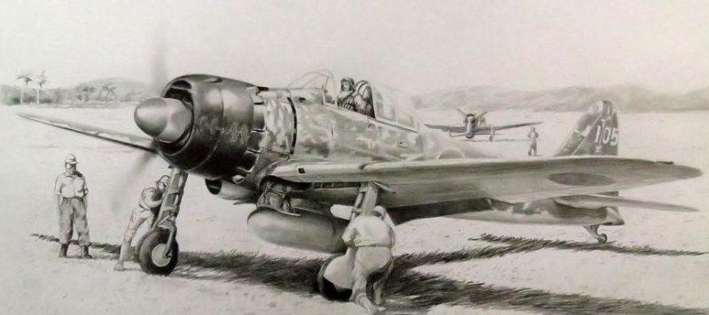 Albornoz Pablo. Истребитель A-6M Zero