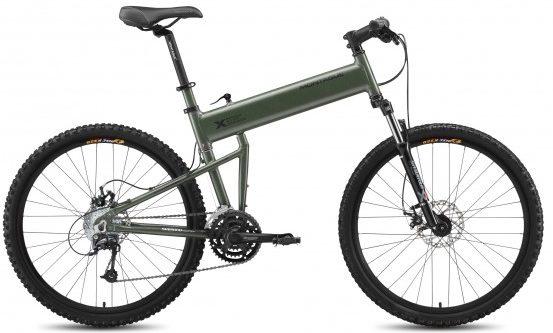 Армейский складной горный велосипед «Montague Paratrooper».
