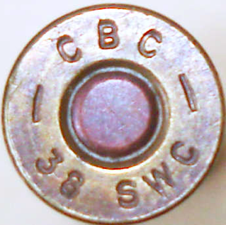 Патрон .38 Smith & Wesson (9х19,5)