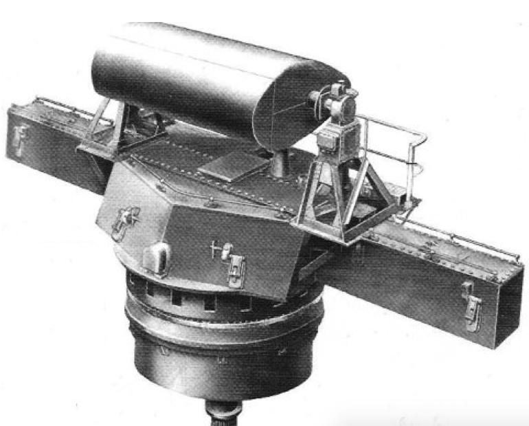 Антенна Mk-38 director корабельной РЛС Mk-3