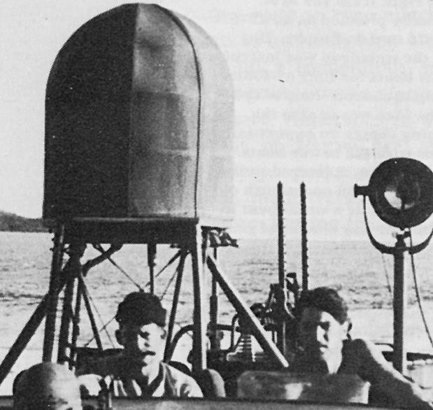 Корабельный вариант РЛС SCR-517-А