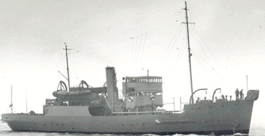 Минный заградитель «Linnet» (М-69)