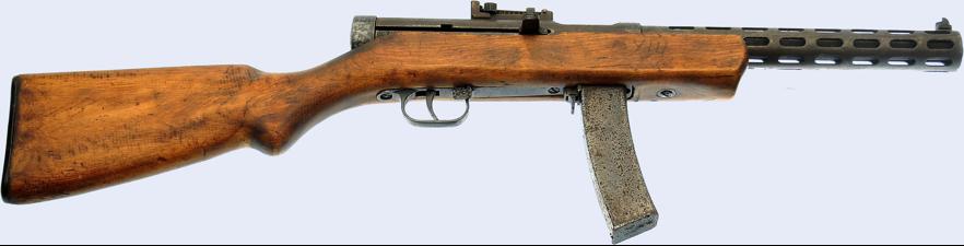 Пистолет-пулемет ППД-34