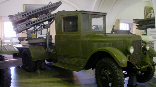 Реактивная пусковая установка БМ-8-36