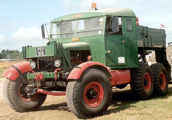 Бортовой тягач Scammell PioneerTRMU-20