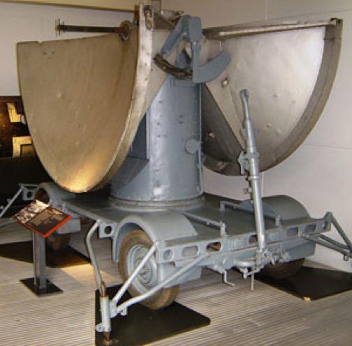 Перевозная РЛС FuMG-62-А (Würzburg-А)