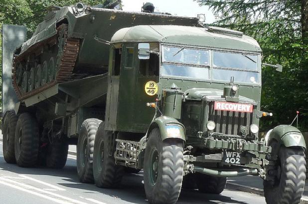 Седельный тягач Scammell PioneerTRMU-20