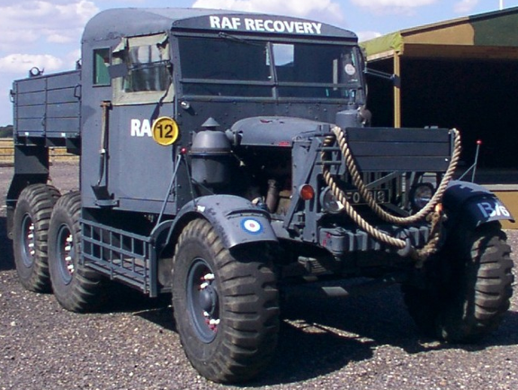 Артиллерийский тягач Scammell Pionee SV/2S