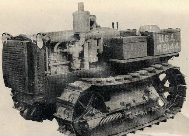 Рисунок трактора M-2 Light Tractor