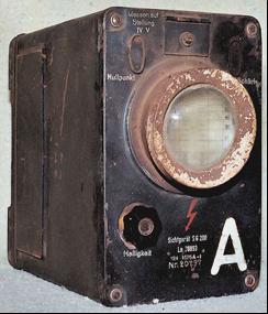 Индикатор РЛС FuMO-61 на подлодке