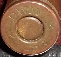 Патрон 7,63х25 Mauser