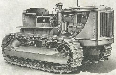 Рисунок трактора M-1 Heavy Tractor