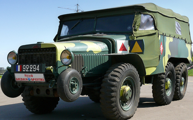 Артиллерийский тягач Laffly/Hotchkiss W-15T