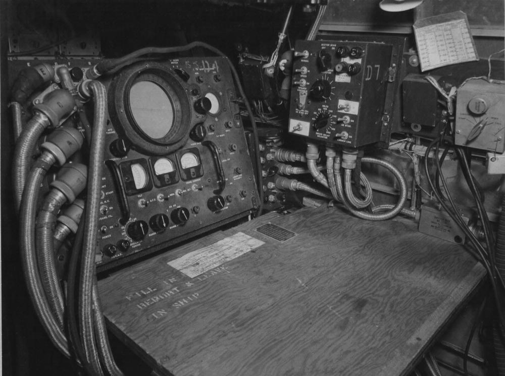 Панель управления РЛС H-2X (AN/APS-15)