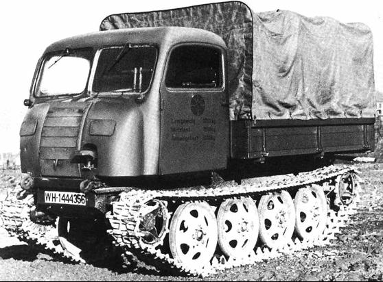 Гусеничный тягач Raupenschlepper Ost (RSO/01)