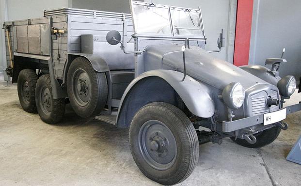 Колесный тягач Krupp-Protze Kfz 69