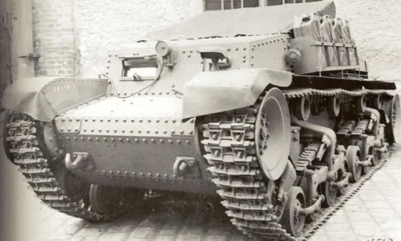 Артиллерийский тягач Artillerie Schlepper 35(t)