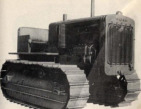 Рисунок трактора M-1 medium tractor