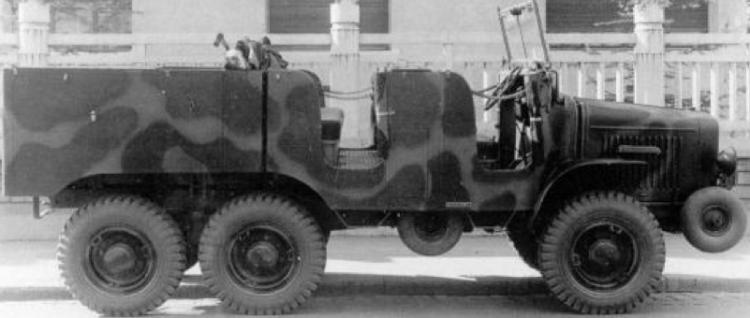 Артиллерийский тягач Laffly S-20TL