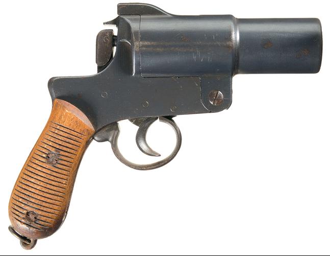 Сигнальный пистолет Nambu Type 10 Flare Pistol