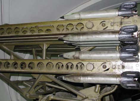 Реактивная пусковая установка БМ-8-48