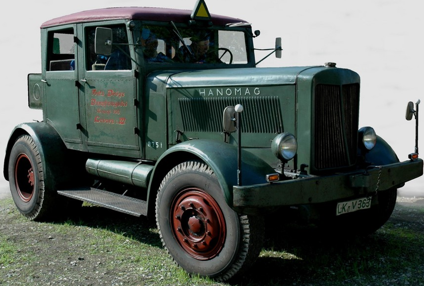 Тягач Hanomag SS-100W (Gigan)
