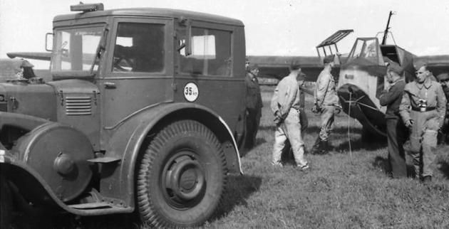 Трактор Lanz Eil-Bulldog
