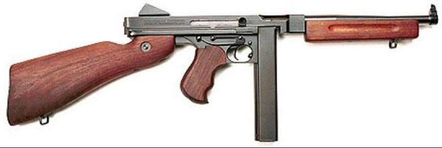 Пистолет-пулемет Thompson M-1A1