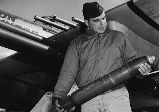 Реактивный фугасный снаряд 4.5-Inch Rocket M-8