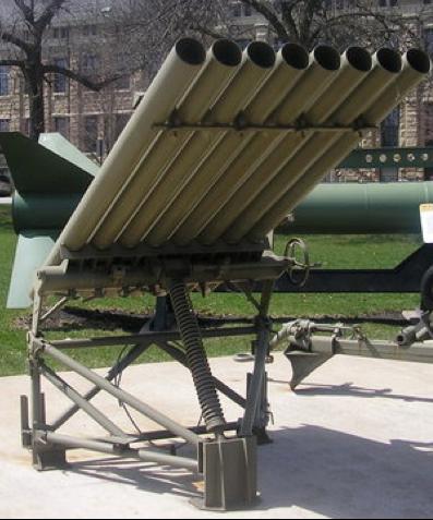 Реактивная пусковая установка 4.5 Inch T-27