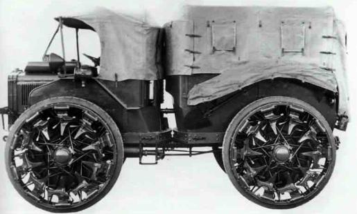 Артиллерийский тягач Weiss-Pavesi P-4. Mod. 30-A