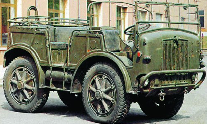 Артиллерийский тягач SPA ТМ40