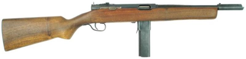 Пистолет-пулемет Reising M-50