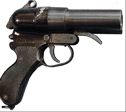 Двухствольный сигнальный пистолет Nambu Type 90 Double Barrel Flare Pistol